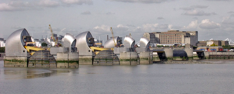 Thames Barrier Lift Control by Monitran