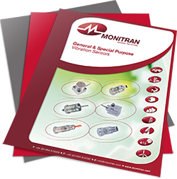 vibration sensors guide by Monitran
